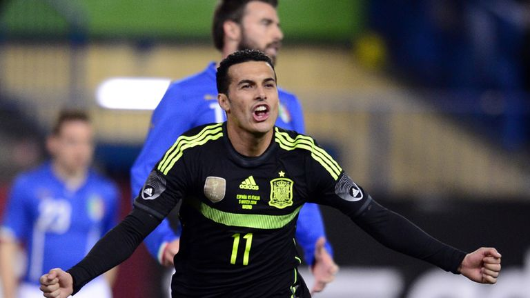 Pedro: Bagged the only goal of the game