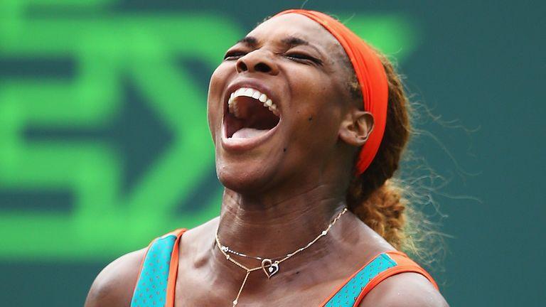 Serena Williams: Through to the fourth round in Miami