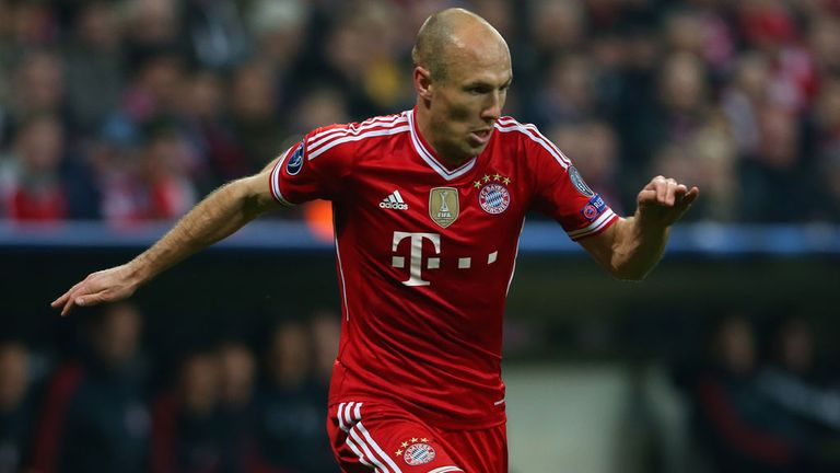Arjen Robben: Signed a two-year contract extension