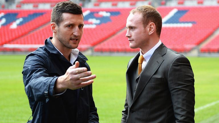 Groves tried to get under Froch's skin... again