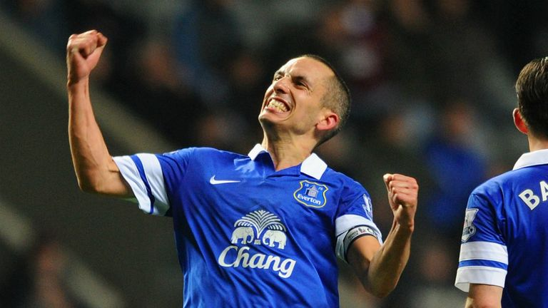 Leon Osman: Made his debut for Everton more than 11 years ago