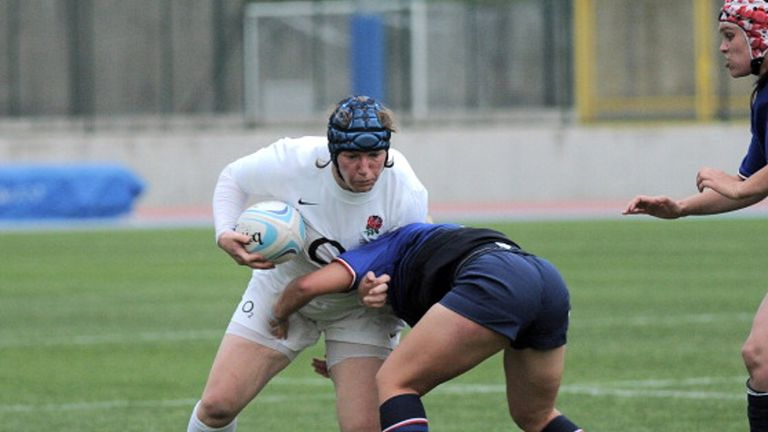 Clark earned her 100th cap for England against France in the 2015 Six Nations