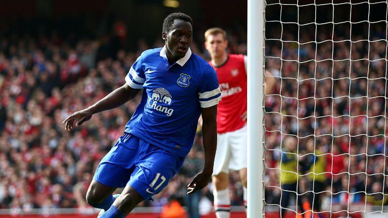 Romelu Lukaku: Impressive form for Everton