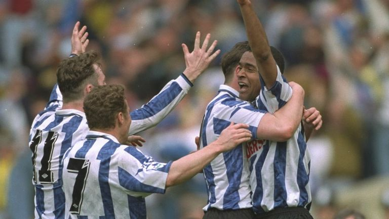 Mark Bright enjoyed success with Sheffield Wednesday but found opportunities limited under David Pleat