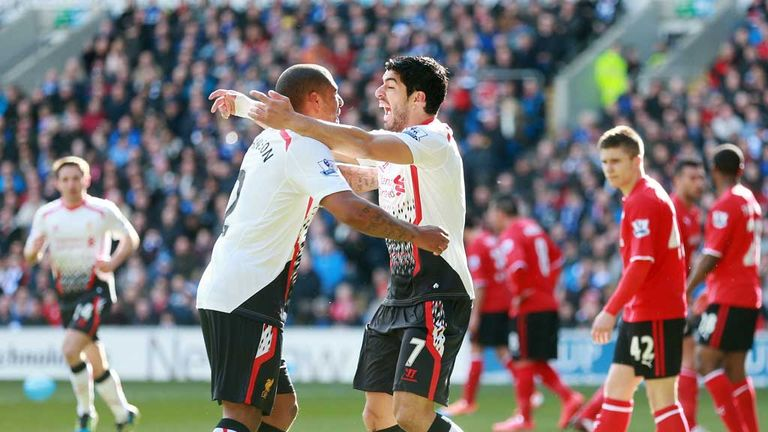 Johnson assisted Suarez at Cardiff