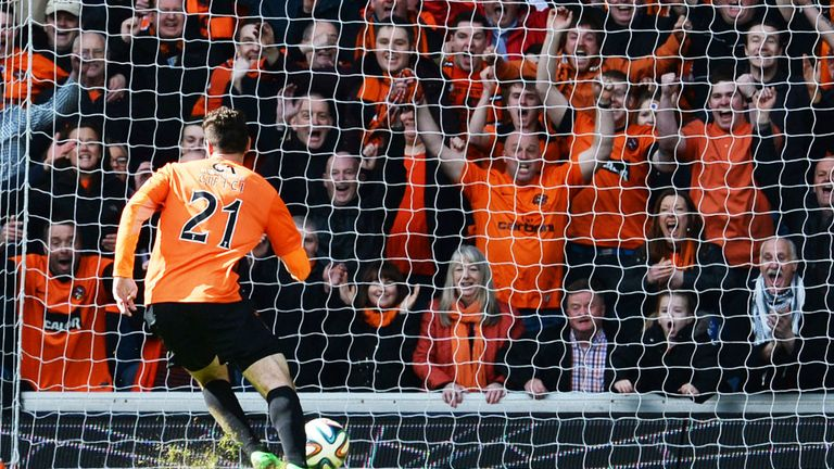 Nadir Ciftci secures Dundee United's 3-1 victory over Rangers