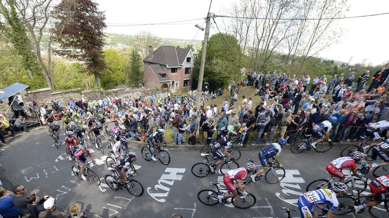 La Fleche Wallonne is one of the Ardennes classics