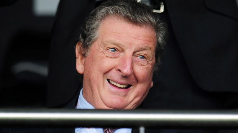 Roy Hodgson: Has effectively chosen his squad for Brazil
