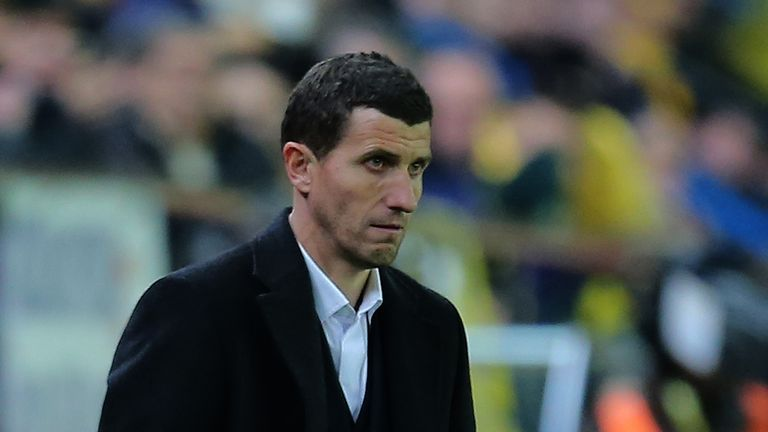 Javi Gracia: Named as the new manager of Malaga
