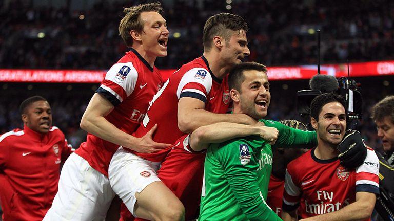 Lukasz Fabianski: Saved two penalties in Arsenal's shootout success