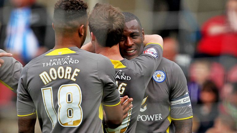 Wes Morgan: Rounded off Leicester's scoring