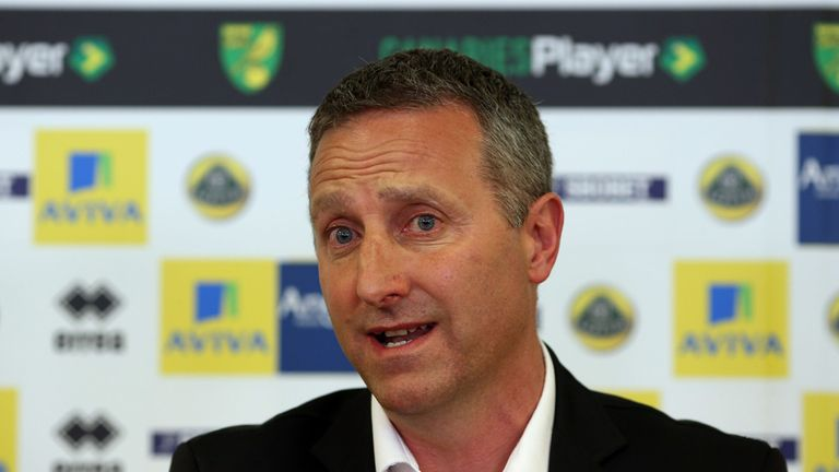 Neil Adams: Will not be forced to sell any players at Norwich this summer