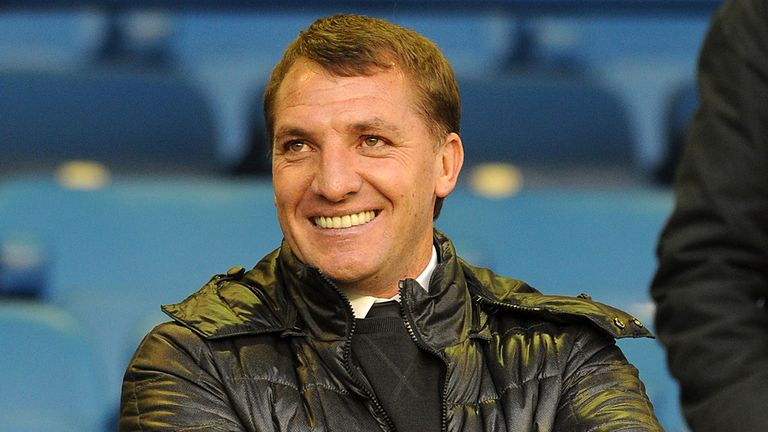 Brendan Rodgers: Has guided Liverpool to a five-point lead at the top of the table