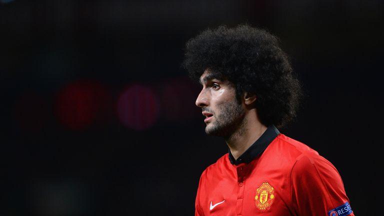 Marouane Fellaini: Sees his future at Manchester United