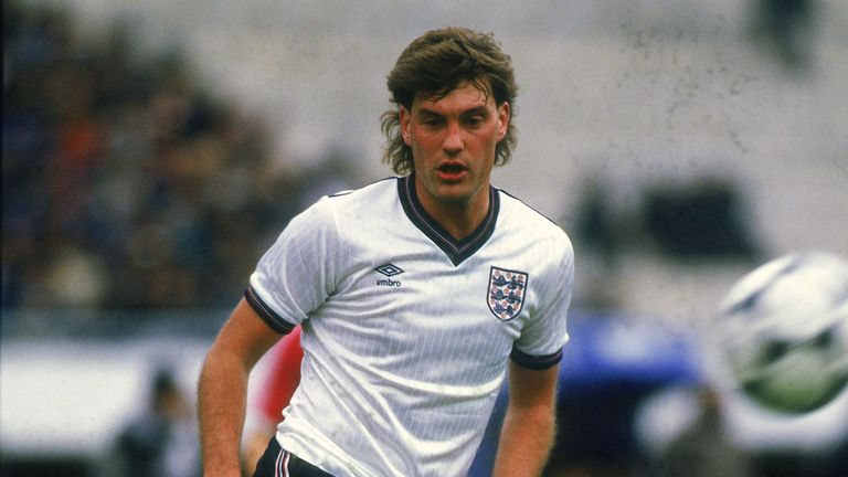 A brilliant playmaking midfielder, Hoddle was capped 53 times by England