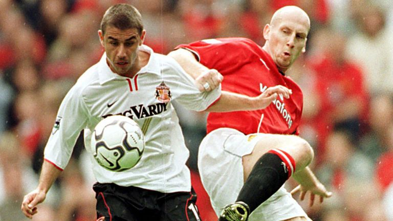 Jaap Stam joined United ahead of their title-winning campaign