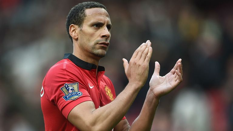 Rio Ferdinand 'was a brilliant leader, brilliant in the air and a great defender,' according to Ryan Giggs