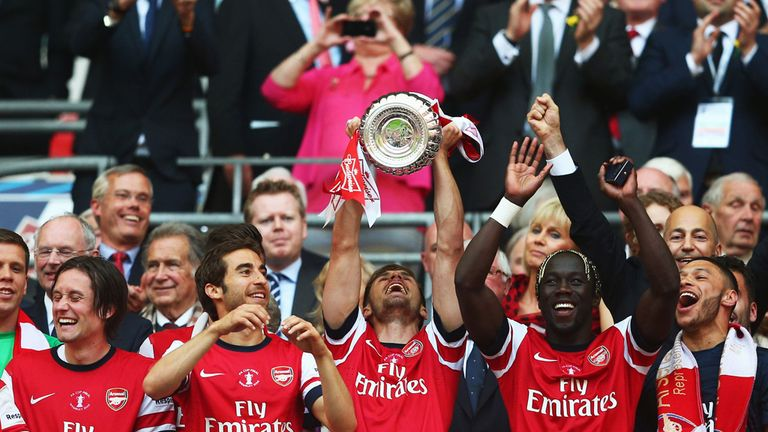Arsenal: tasted domestic cup glory in the FA Cup last season