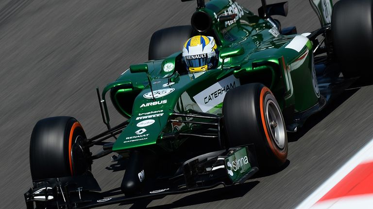 Caterham: Have announced technical shake-up