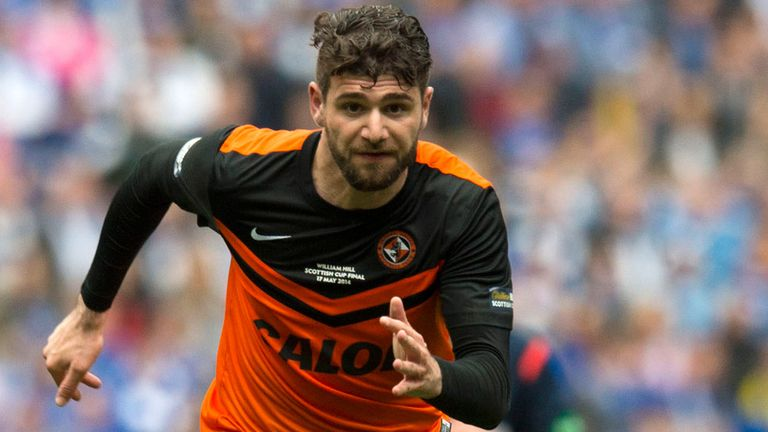Nadir Ciftci: On he mark for Dundee United in Dublin