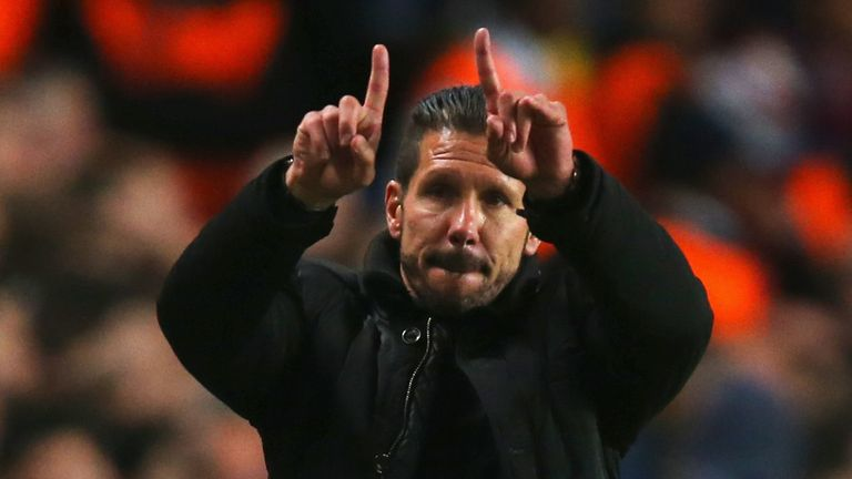 Diego Simeone: Leading Atletico on two fronts