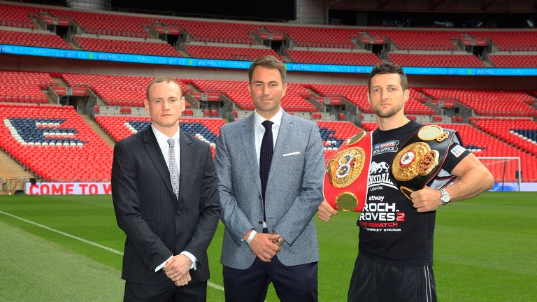 Carl Froch's rematch with George Groves was the main event