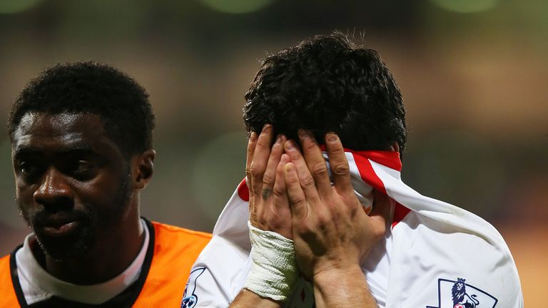 Luis Suarez was left in tears after a 3-0 lead turned into a 3-3 draw