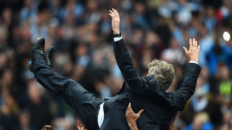 Pellegrini's light touch helped take City to the title in his first season