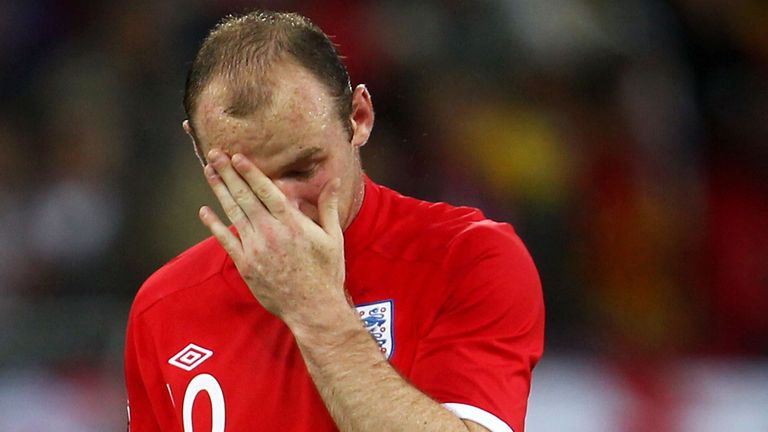 Wayne Rooney: Desperate to improve his goalscoring form at the World Cup