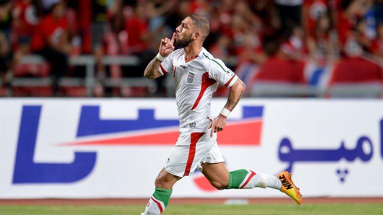 Ashkan Dejagah: Named in Iran squad
