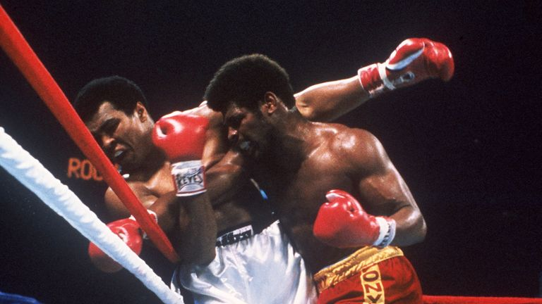 Ali got the better of surprise package Spinks in their rematch in 1978