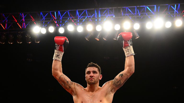 Nathan Cleverly awaits the Braehmer v Krasniqi winner
