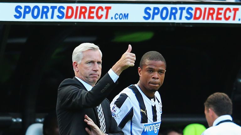 Remy played under Crystal Palace boss Alan Pardew at Newcastle