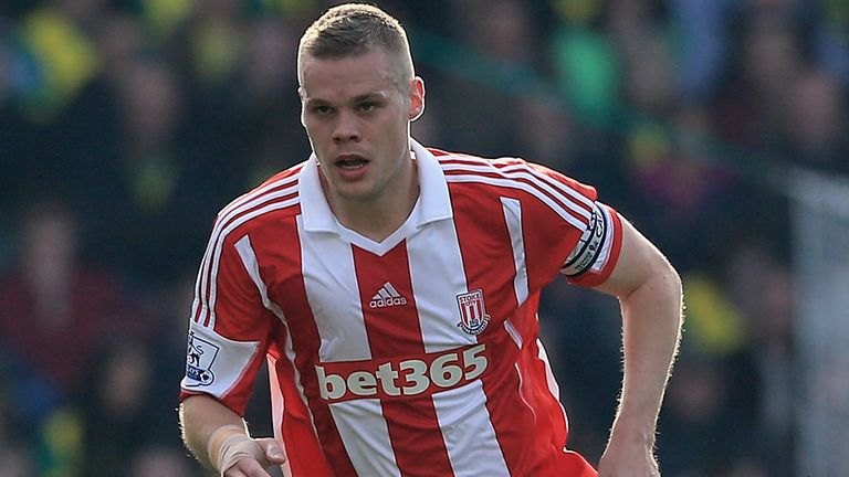 Ryan Shawcross: Stoke defender relaxed over England snub