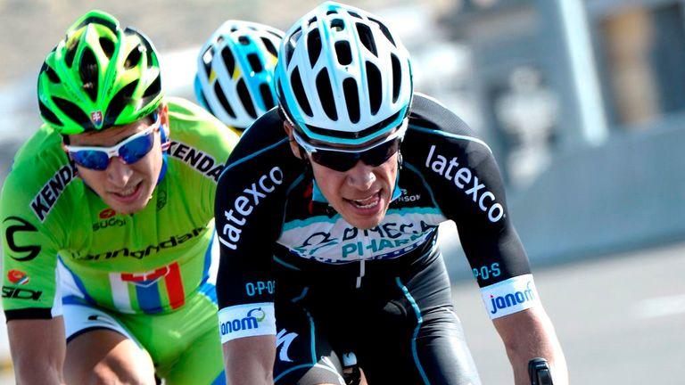 Rigoberto Uran finished second at last year's Giro