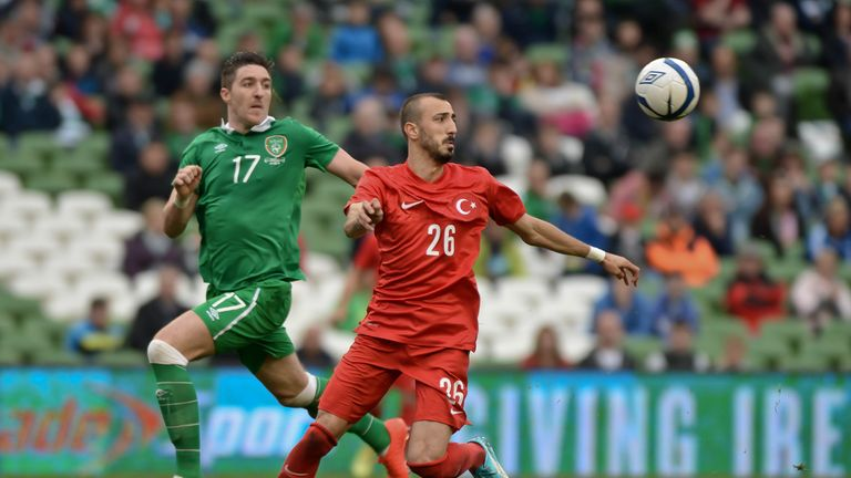 Ahmet Ilhan (R): Threatened Ireland's defence on numerous occasions