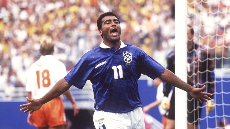 Romario suffered Champions League defeat before his World Cup win