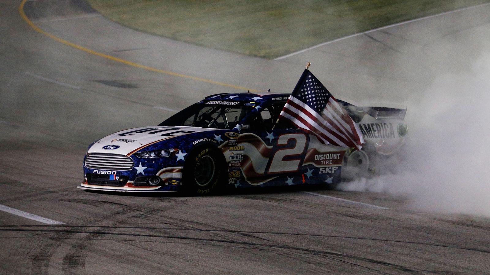 Nascar Sprint Cup Series Brad Keselowski Becomes Kentucky Speedway S First Repeat Winner Nascar News Sky Sports