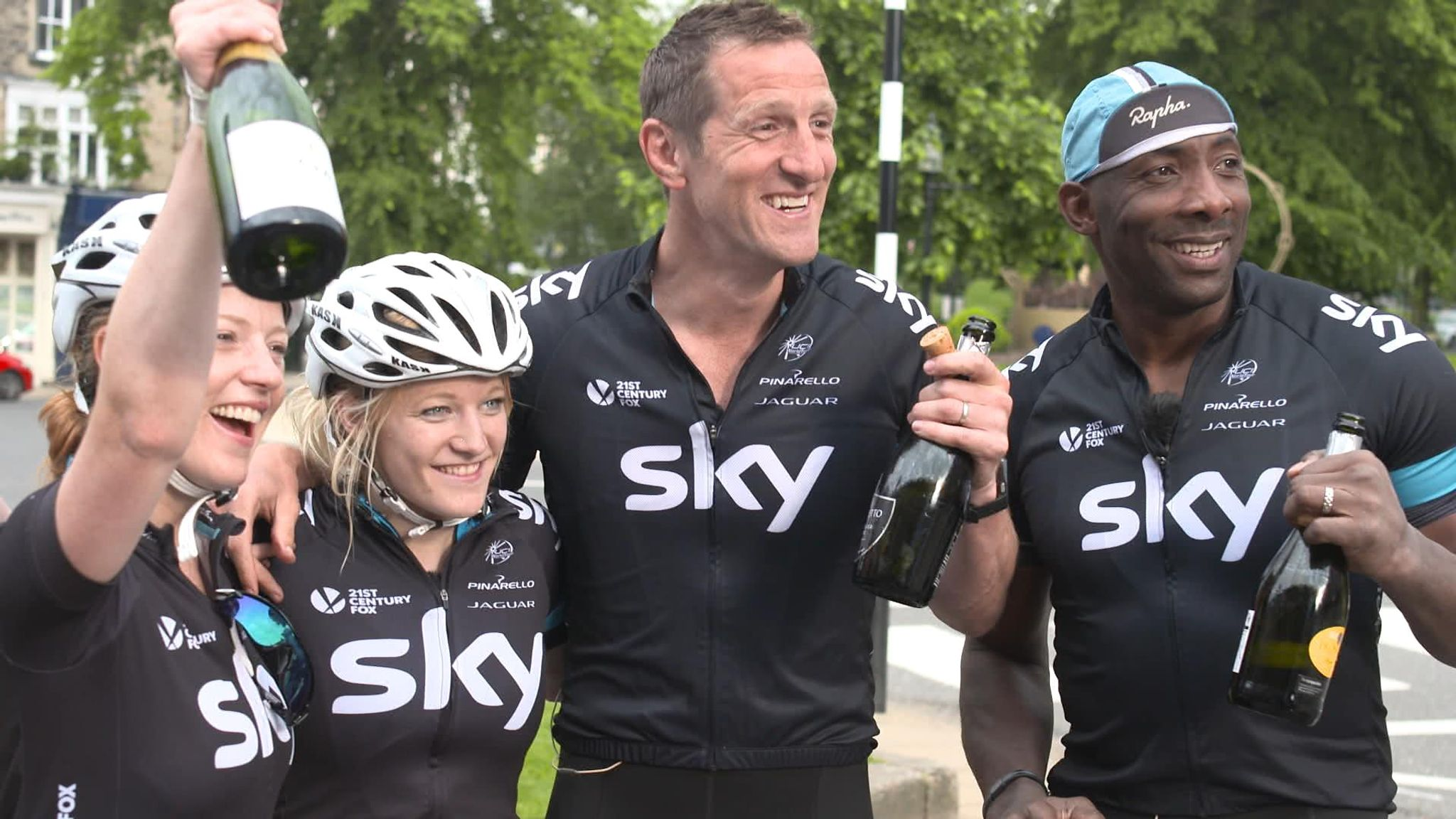 Riding the Dales: Sky trio reflect on their Tour de France challenge