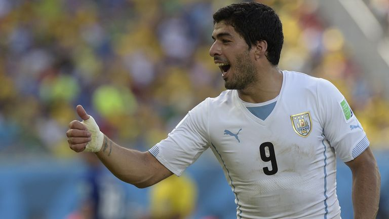 Wanted man: Luis Suarez is still attracting interest in Spain