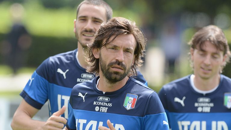 Andrea Pirlo: Set to quit international football after World Cup
