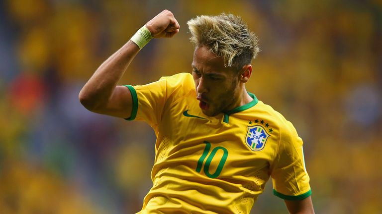 Neymar: Rejected a switch to Chelsea while at Santos