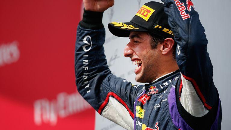 Daniel Ricciardo: Australia's fourth grand prix winner