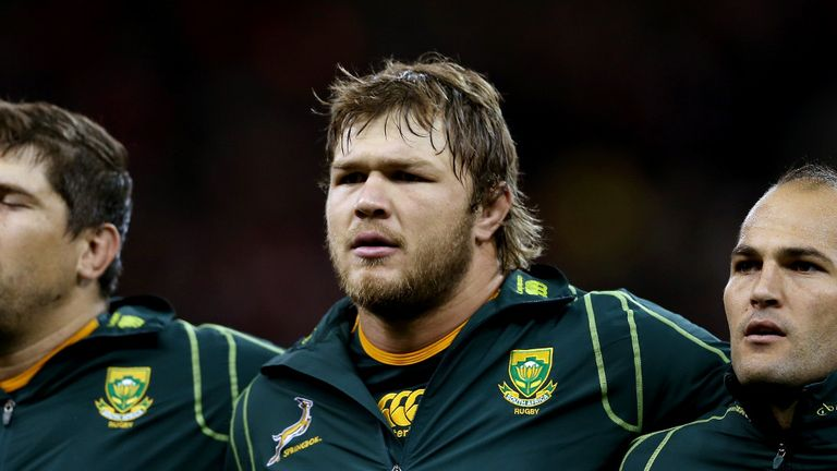 Duane Vermeleun has been South Africa's best player of the Rugby Championship, according to Thinus Delport