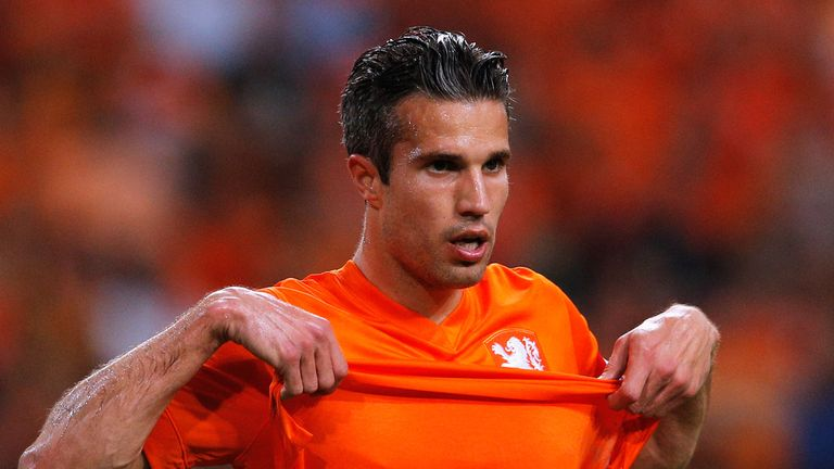 Robin van Persie: Has shaken off a groin complaint