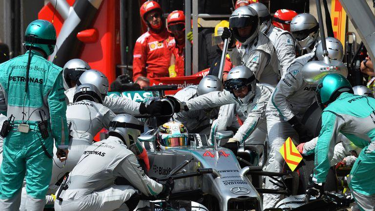 Lewis Hamilton: A pair of sluggish stops in Austria