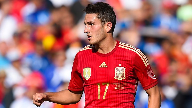 Koke has become an important player for Vicente del Bosque since the World Cup