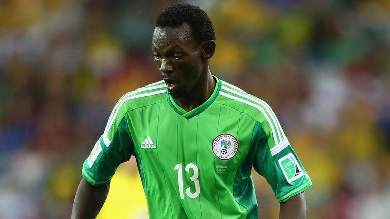 Juwon Oshaniwa: Played for Nigeria at World Cup 2014