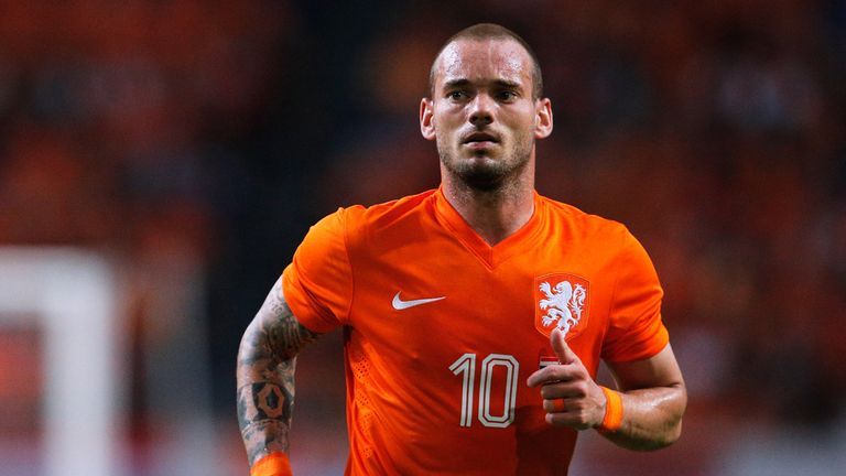 Sneijder made his final Netherlands appearance in a 3-0 victory over Romania in November 2017