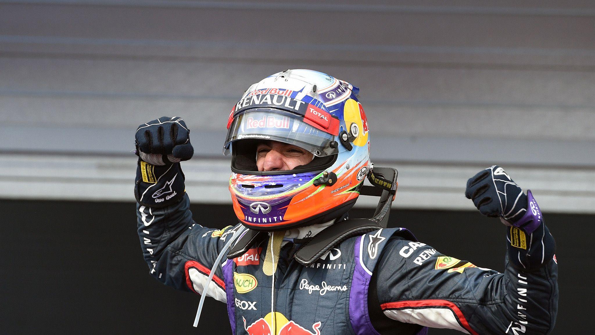 Daniel Ricciardo says the F1 title isn't out of reach